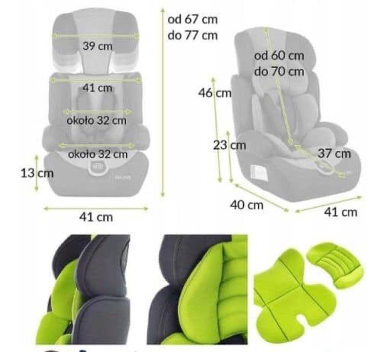 Авто крісло KINDERSAFETY 3в1 9-36кг - Фото 4