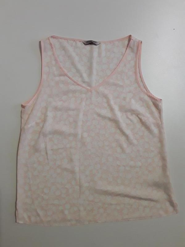 Фирменная нежная легкая майка блуза маечка