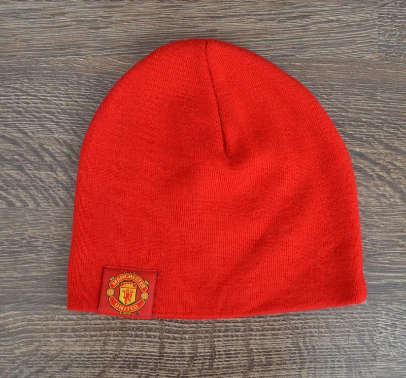 Оригинальная теплая шапка nike ®manchester united beani hats