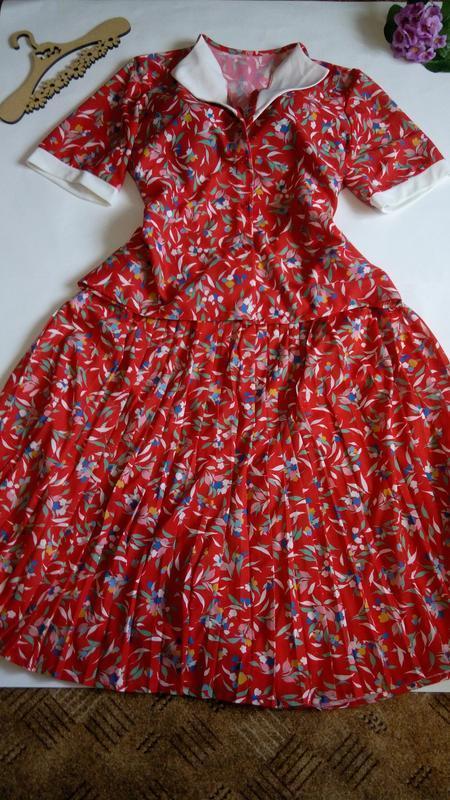 Костюм юбка платье миди  нарядное офисное  50 52 размер нового...