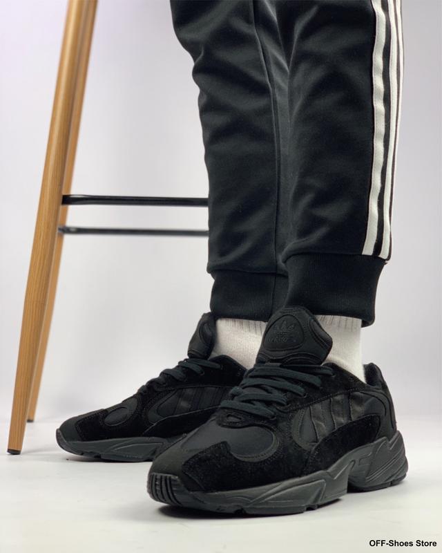 Стильные мужские кроссовки в цвете full black (41-45)