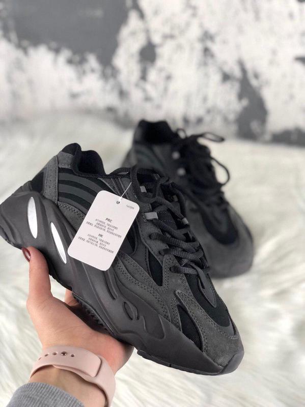 Стильные кроссовки в черном цвете adidas (весна-лето-осень)😍