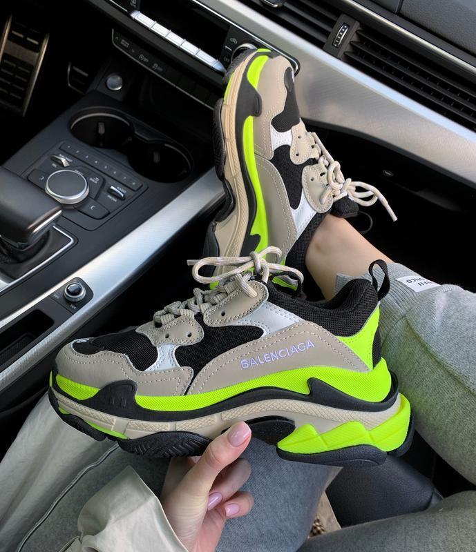 Шикарные массивные кроссовки в ярком дизайне (весна-лето-осень)😍