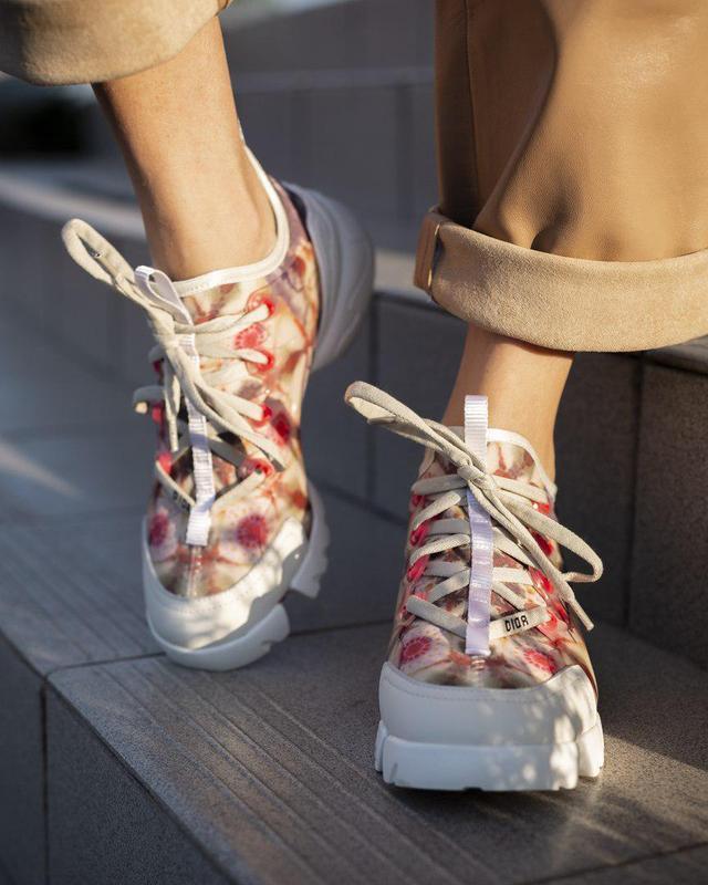Стильные женские кроссовки из кожи (весна-лето-осень)😍