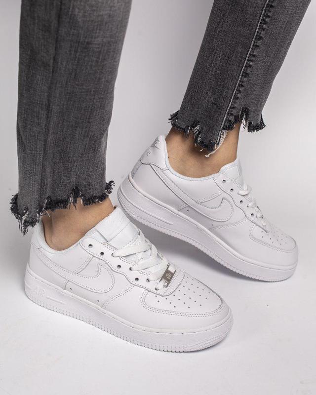Стильные женские кроссовки nike air force (весна-лето-осень)😍