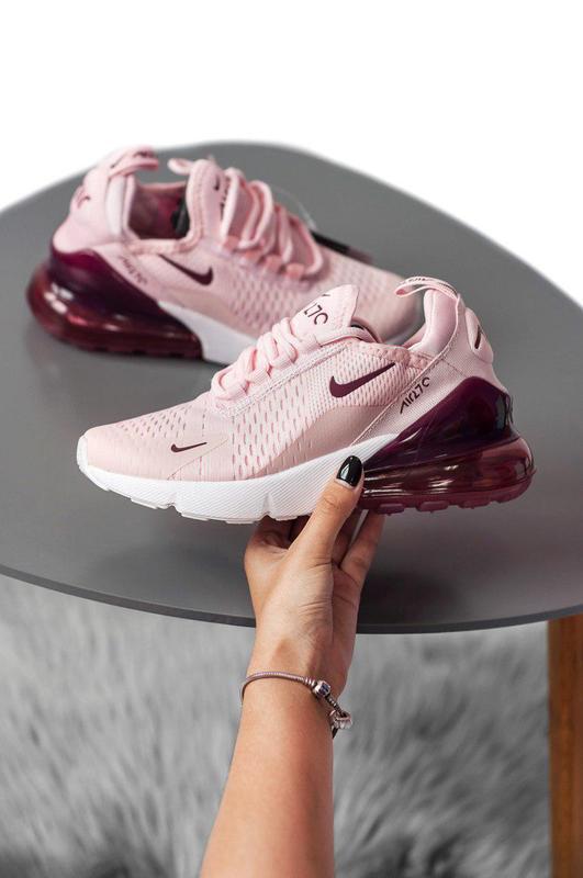 Шикарные женские летние кроссовки nike в розовом цвете (весна-...