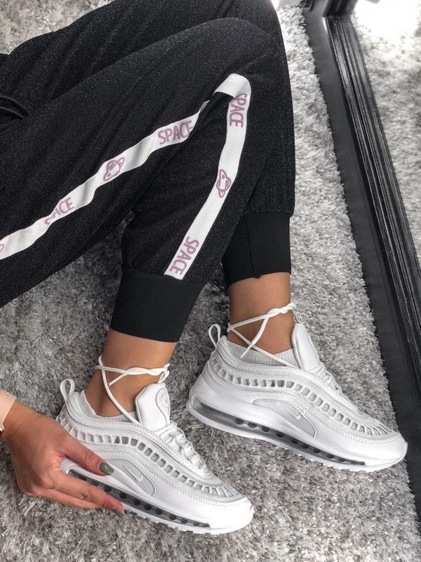 Распродажа🔥 летние кроссовки nike 97 в стильном дизайне и бело...