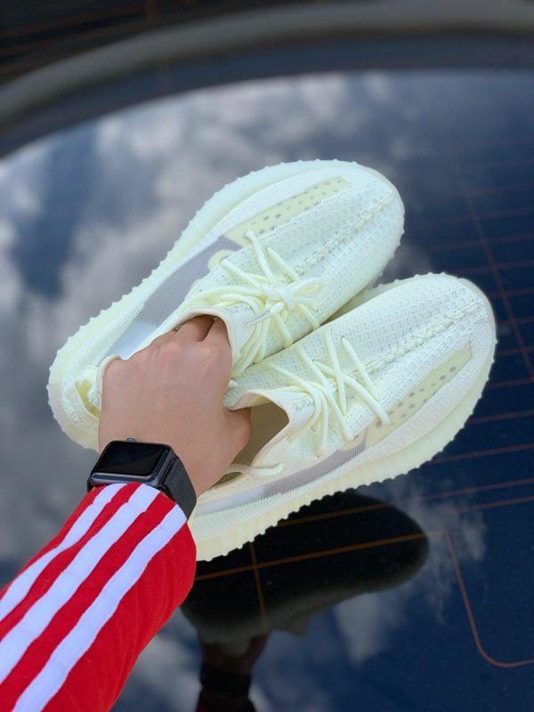 Шикарные кроссовки adidas в салатовом цвете из текстиля (весна...