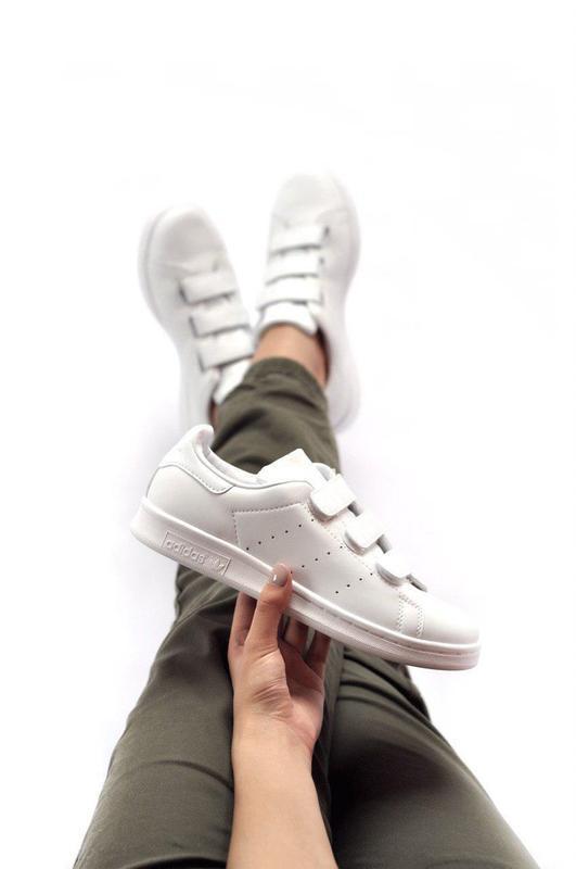 Шикарные кроссовки adidas на липучках (весна-лето-осень)😍