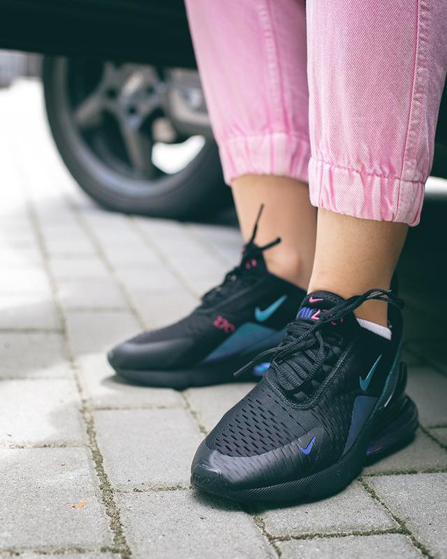 Спортивные кроссовки nike в черном цвете (весна-лето-осень)😍