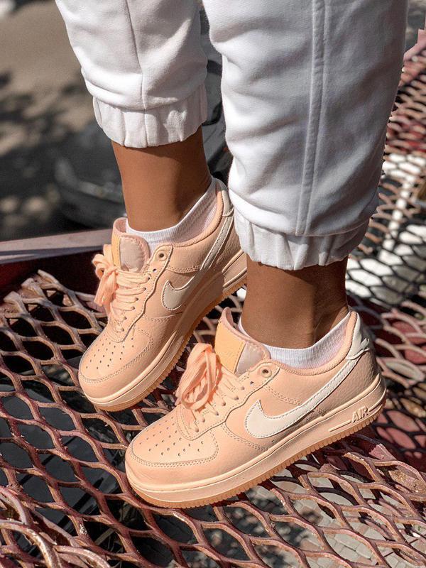 Шикарные женские кроссовки nike в розовом цвете (весна-лето-ос...