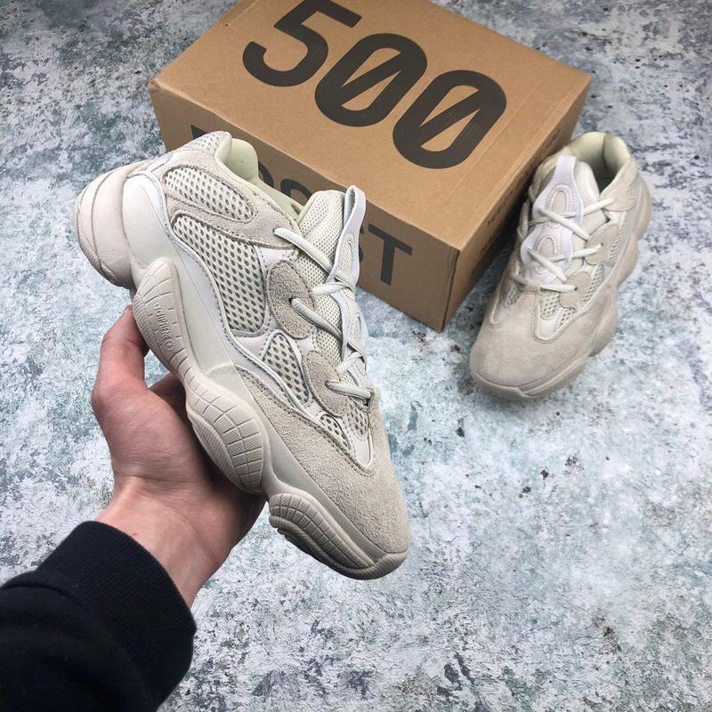 Замшевые кроссовки adidas yeezy 500 blush (весна-лето-осень)😍