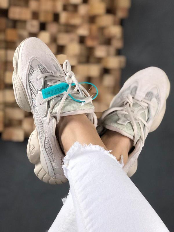 Стильные кроссовки adidas yeezy 500 blush (весна-лето-осень)😍