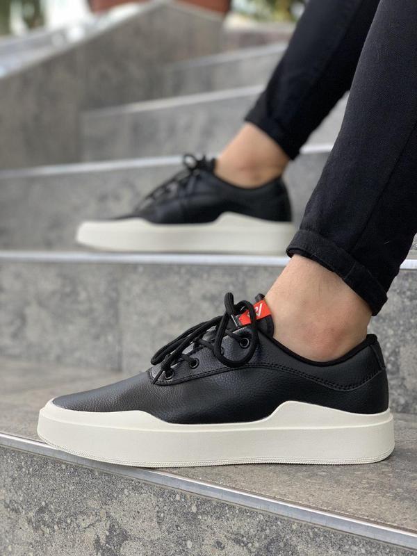 Стильные классические мужские кроссовки nike в черном цвете (в...