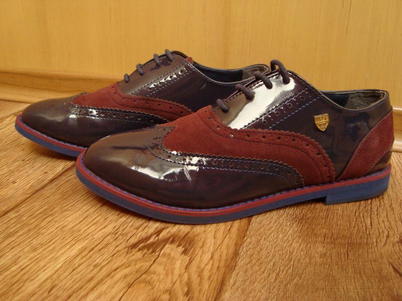 U.S. Polo ASSN, Ralph Lauren, туфли-оксфорды, размер 37,5.