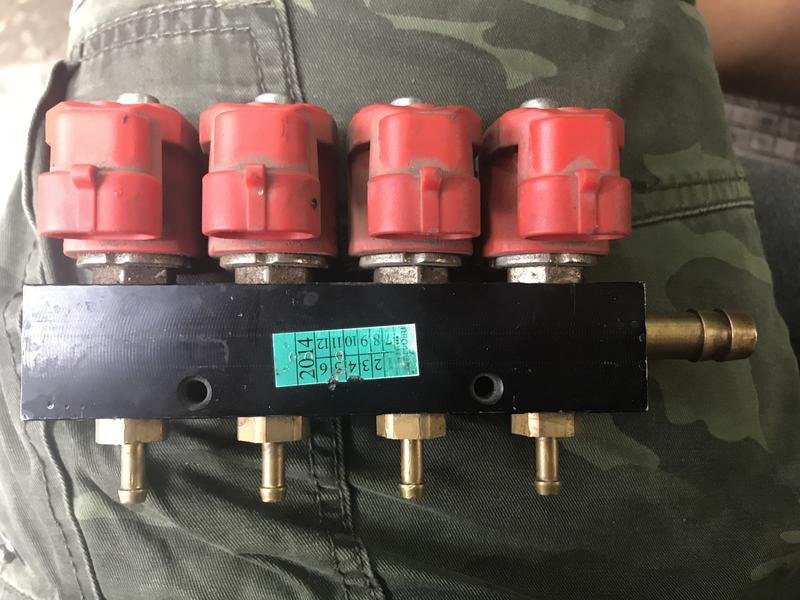 Форсунки Valtek тип 30, 4 цилиндра. 3 Oм