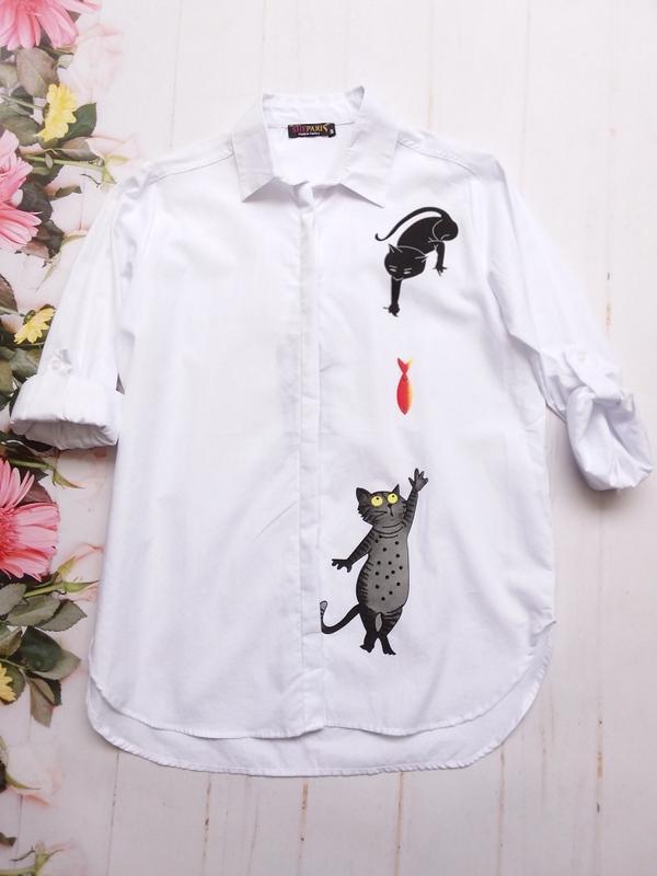 Рубашка.  женская рубашка (турция)