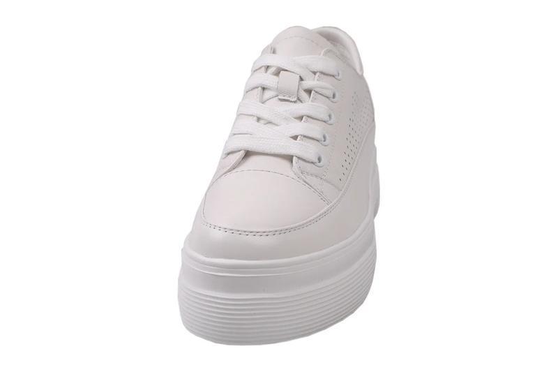 Кроссовки на высокой платформе berkonty натуральная кожа , вес...