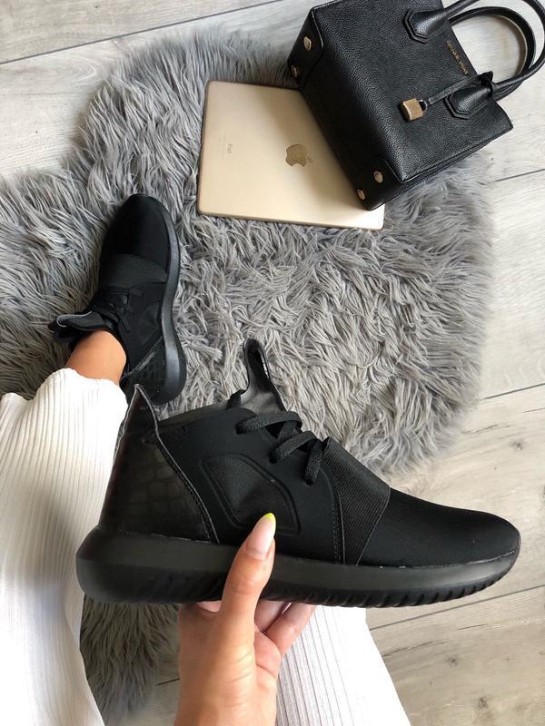 🔥sale 🔥  кроссовки adidas tubular defiant black