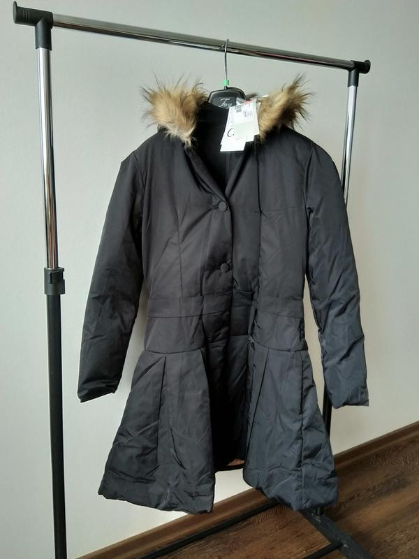 Новое пальто на пуху marese премиум линии tres chic куртка пух... - Фото 6