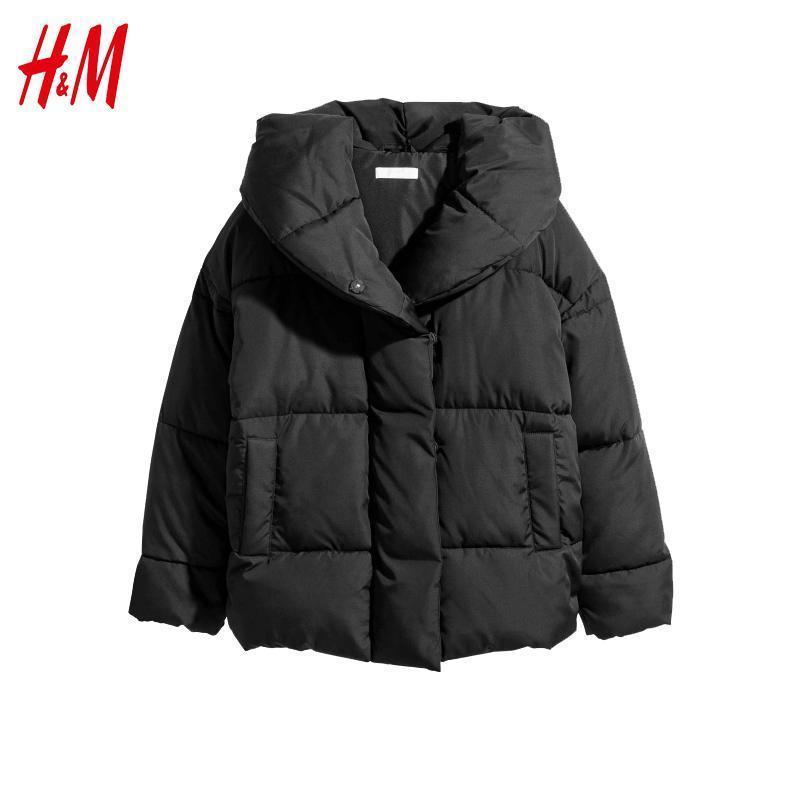 Куртка пуховик зефирка оверсайз от h&m