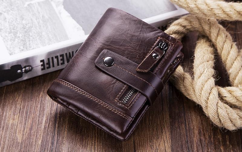 Кошелек кожаный мужской. портмоне бумажник из натуральной кожи