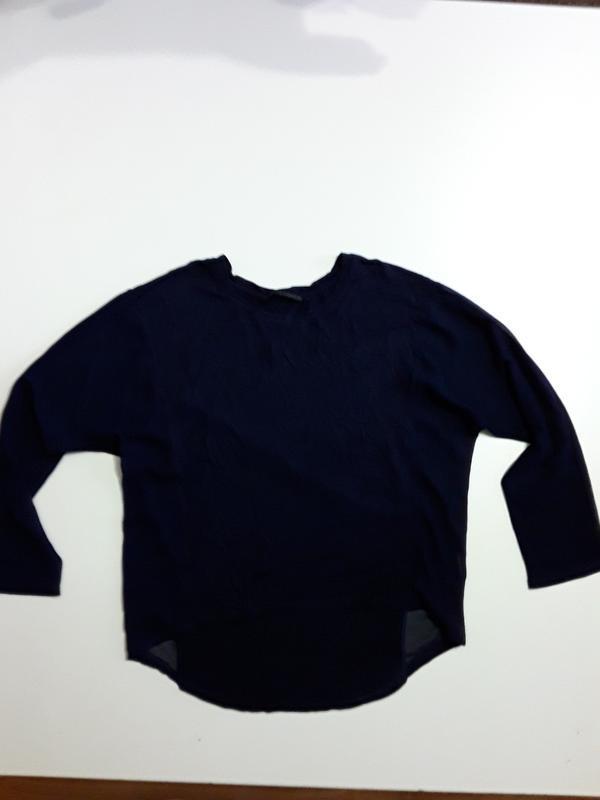 Фирменный реглан лонгслив блуза