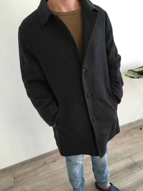 Шерстяное пальто marks spencer