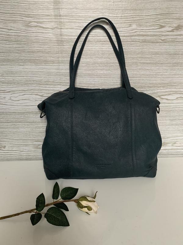 Кожаная сумка шопер liebeskind