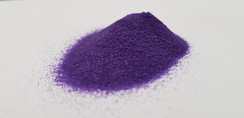 Цветной песок(Фиоле́товый)