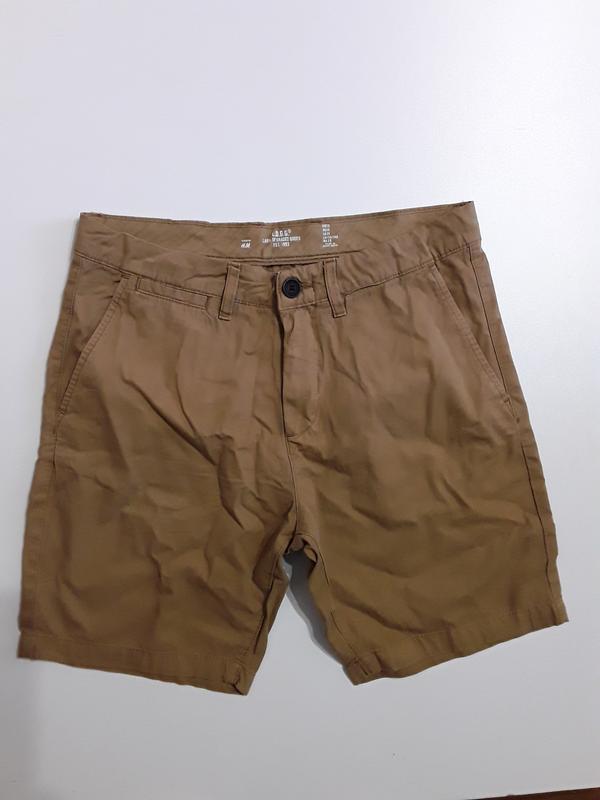 Фирменные хлопковые шорты