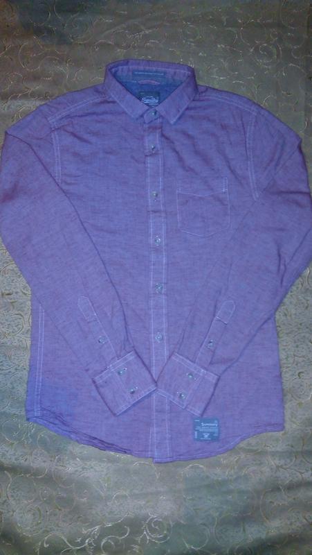 Рубашка super dry  superdry винтаж.