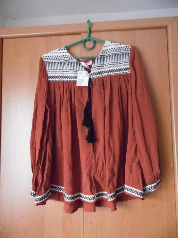 Блуза вишиванка накидка