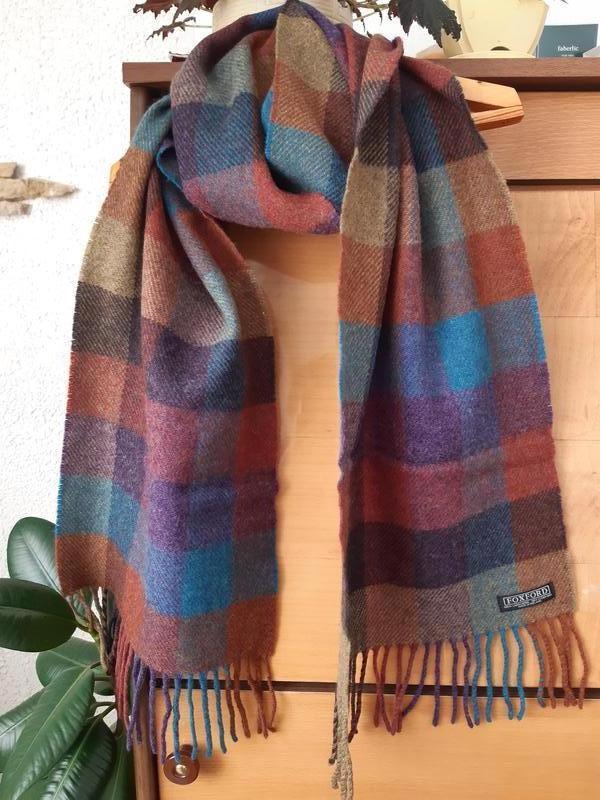 Большой шерстяной шарф унисекс, ирландия foxford