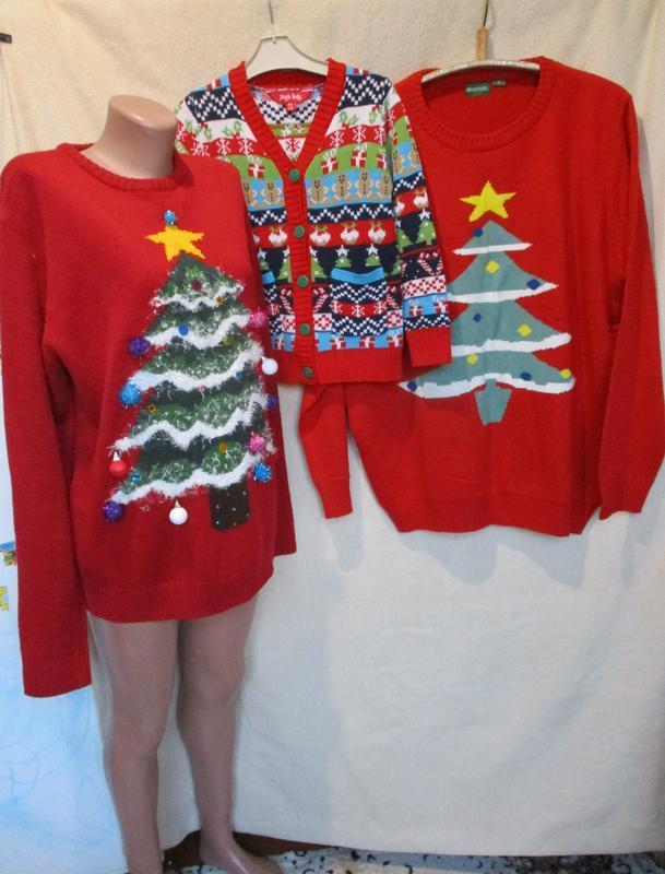 Новогодний family look/фемили лук/свитер с елочкой