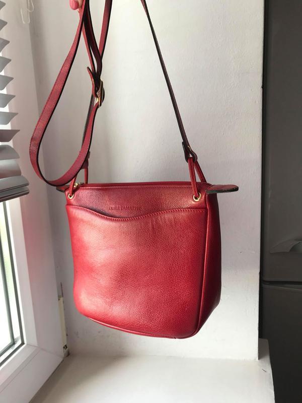 Кожаная сумка кроссбоди. франция