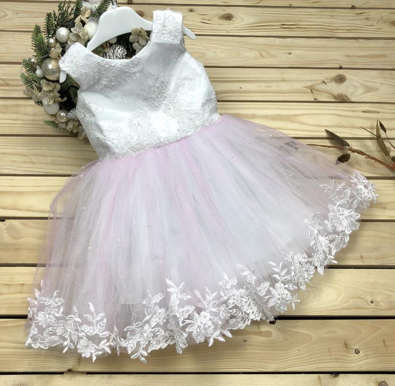Детское пышное платье для девочки