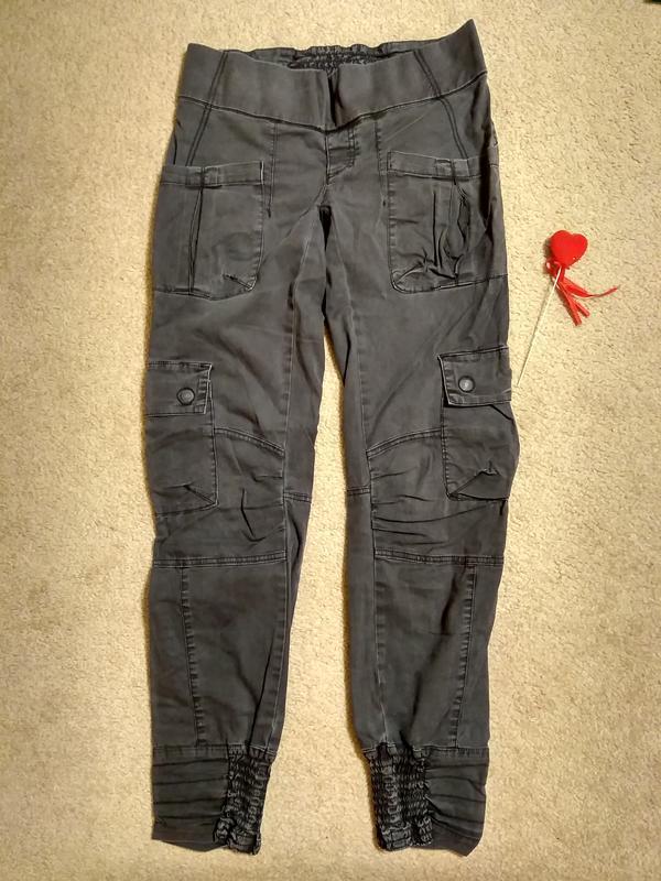 Брюки джинсовые для беременных noppies
