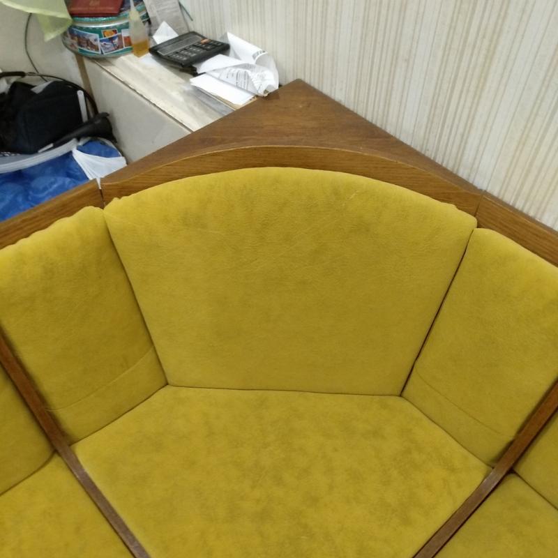Ремонт и перетяжка мебельной тканью - Фото 3