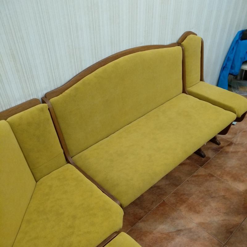 Ремонт и перетяжка мебельной тканью - Фото 4