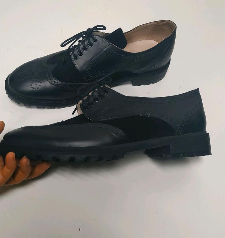 Мужские туфли броги 46р