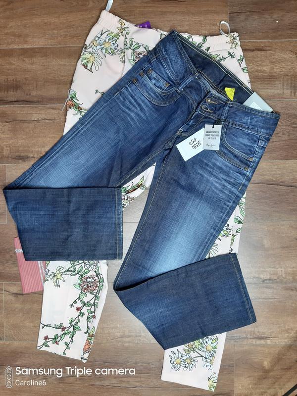 Плотные джинсы pepe с биркой