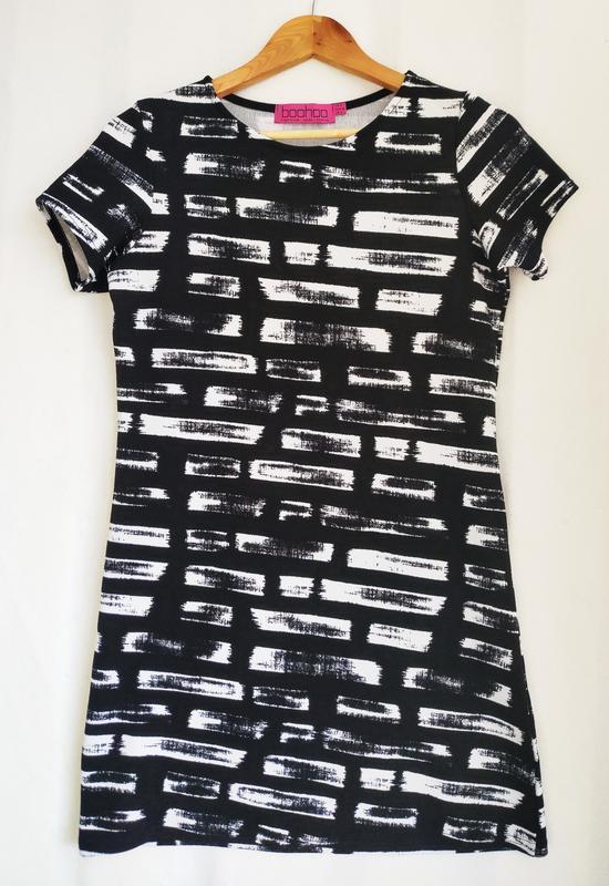 Текстурное платье boohoo