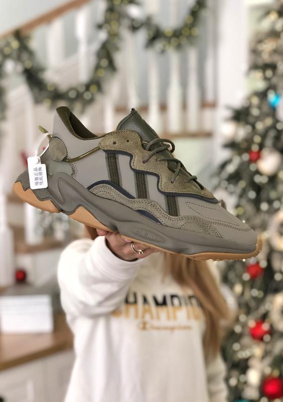 Мужские кроссовки adidas ozweego trace cargo (арт.2043)
