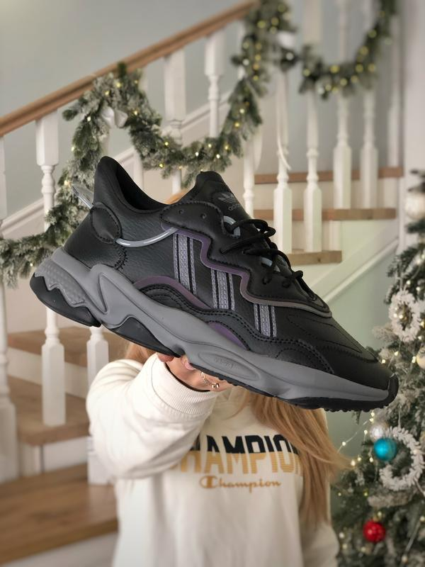 Мужские кроссовки adidas ozweego reflective xeno (арт.2042)