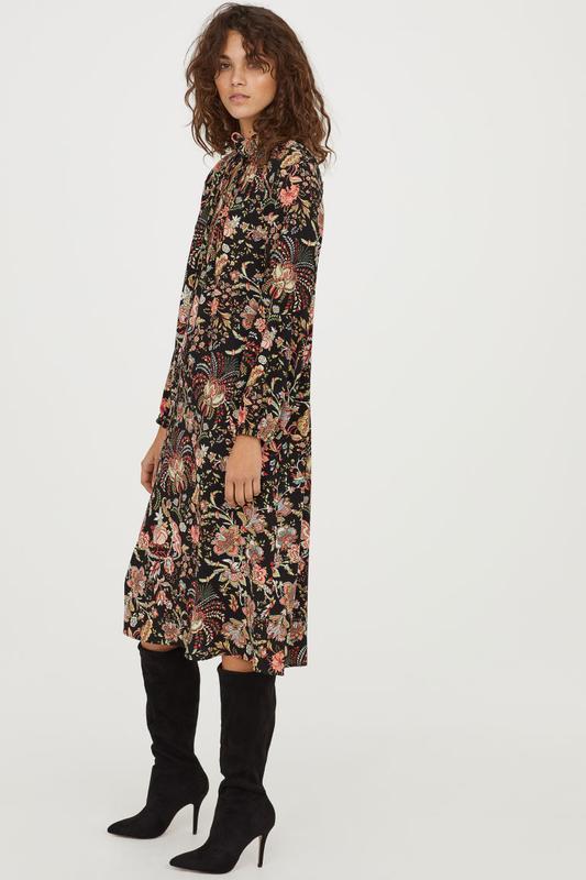 🌺👗🌺красивое легкое женское платье в цветочный принт с воланами...