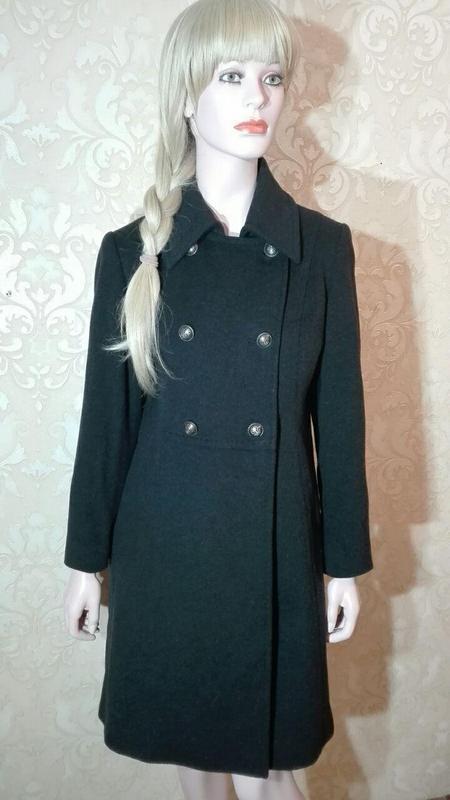 Пальто шерстяное строгое