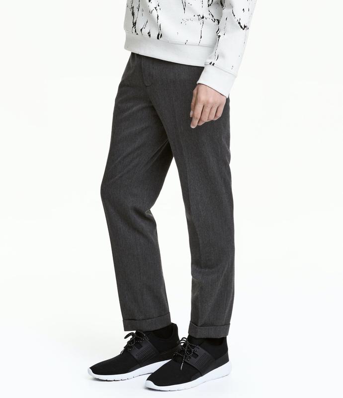 Плотные костюмные брюки h&m !