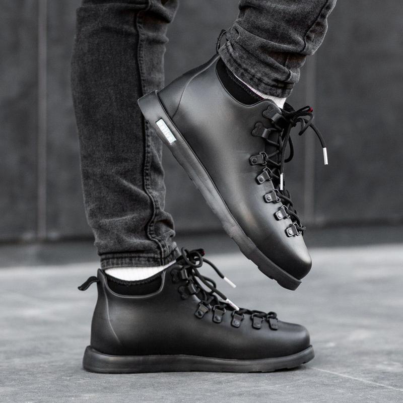 Шикарные мужские зимние ботинки/ сапоги/ кроссовки native fitz...