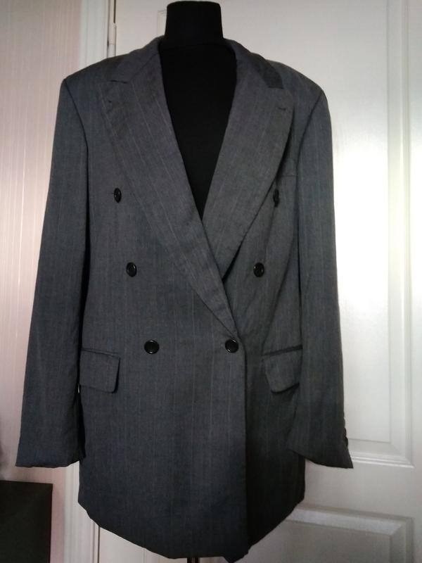 Пиджак двубортный мужской